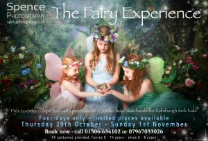 The Fairy Experience flyer - central Scotland October 2015